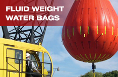 Fluid Weight Water Bags