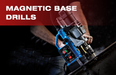Magnetic Base Drills